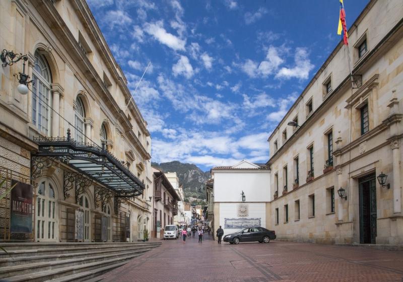 Calle del Teatro Colón | Foto: Margarita Mejía ® IDPC