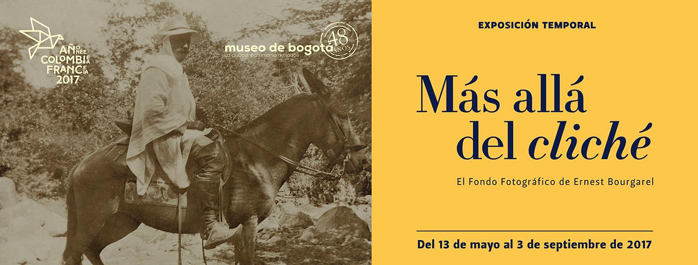 [Foto: Ernest Bourgarel montado en un burro, río Socotá en Boyacá, Colombia 27 de mayo de 1898 Asociación Bourgarel]