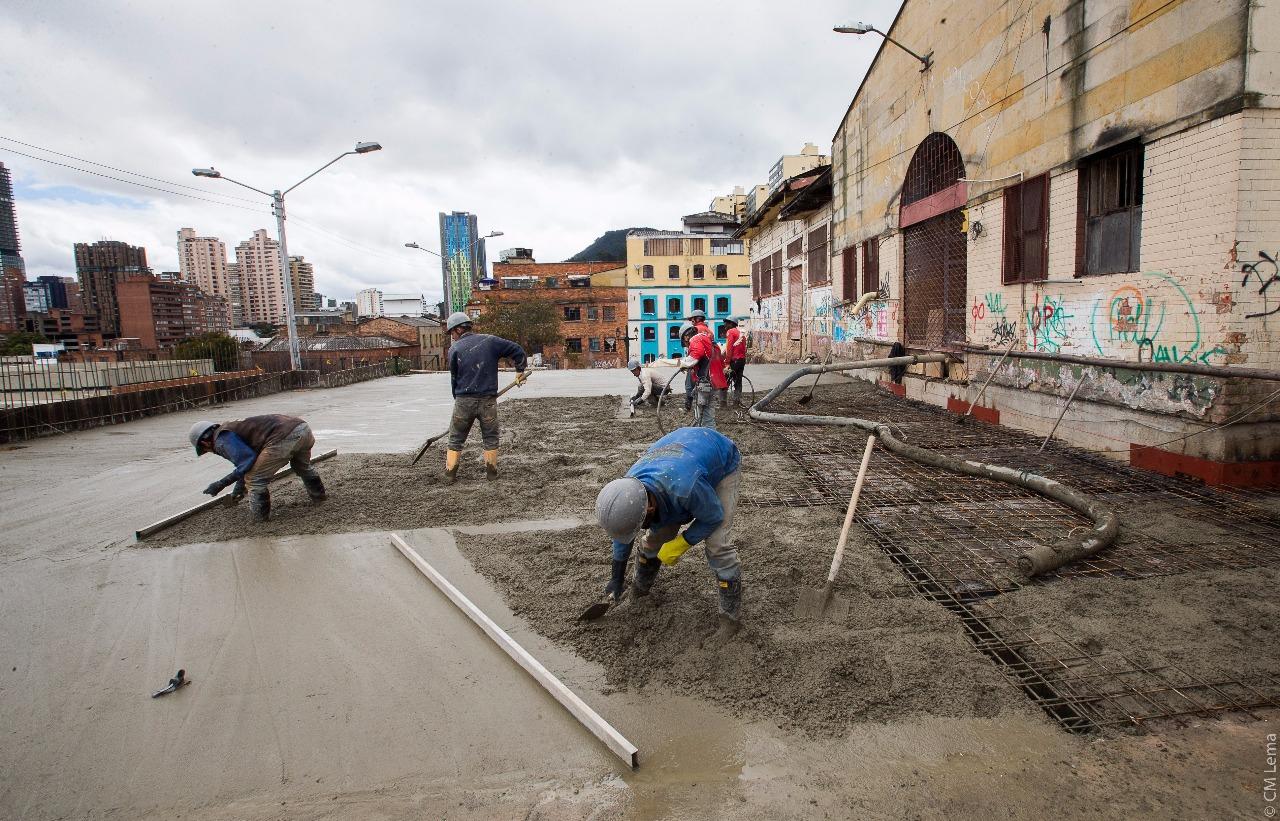 Plaza de mercado La Concordia en Bogotá - IDPC