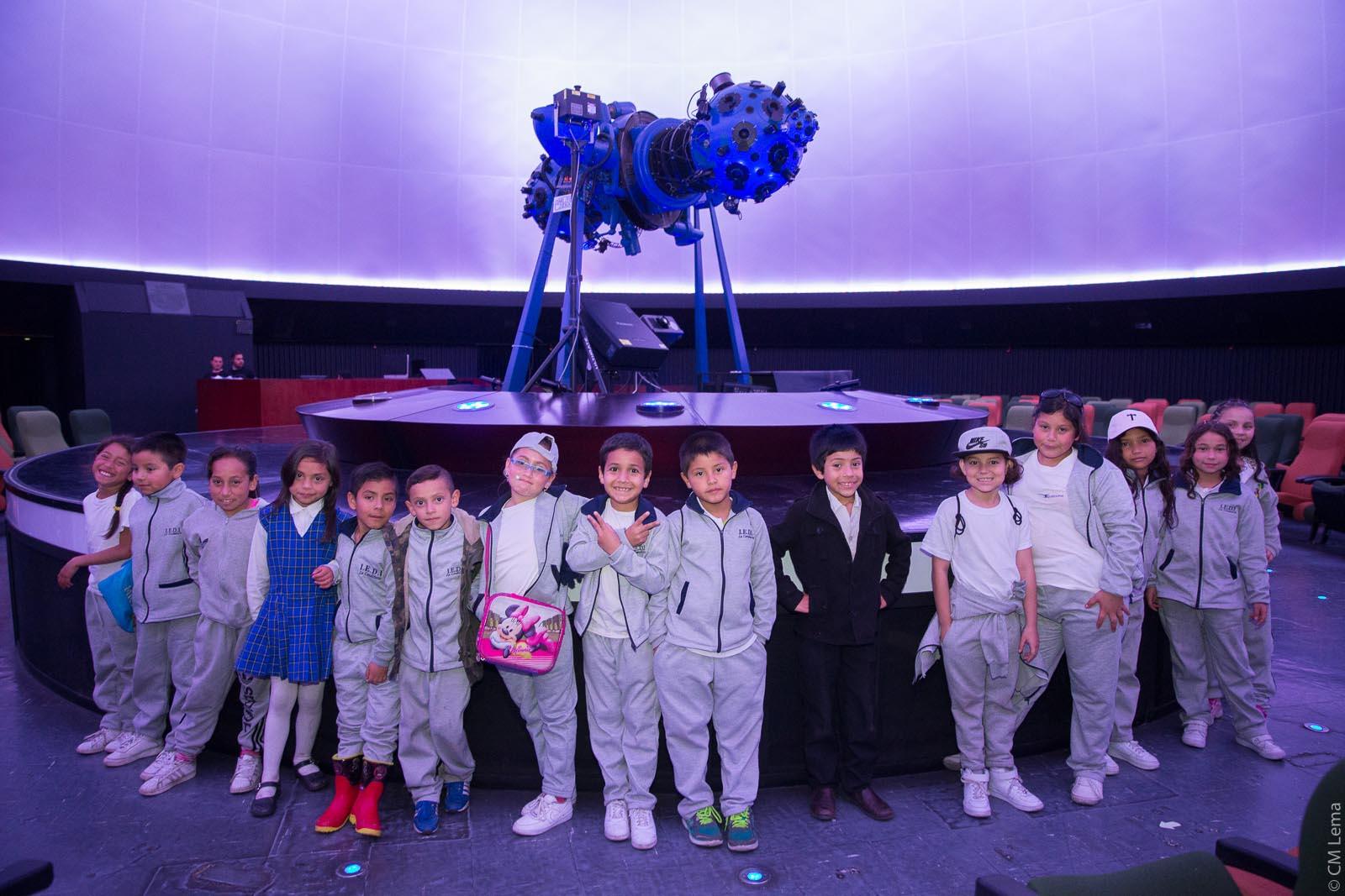 Recorrido de ciudad al Planetario de Bogotá, 2018