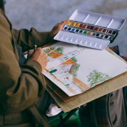 Dibujo realizado en Bosa, en el 2018.