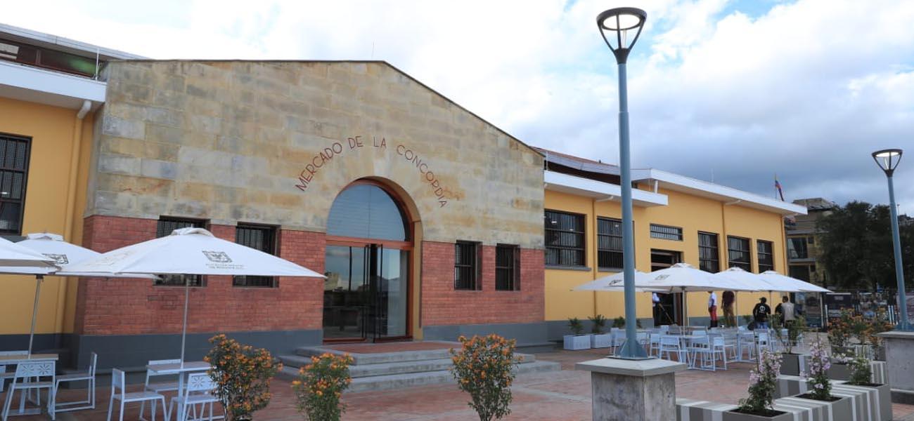 Alcaldía de Bogotá entrega la Plaza Distrital de Mercado La Concordia totalmente restaurada