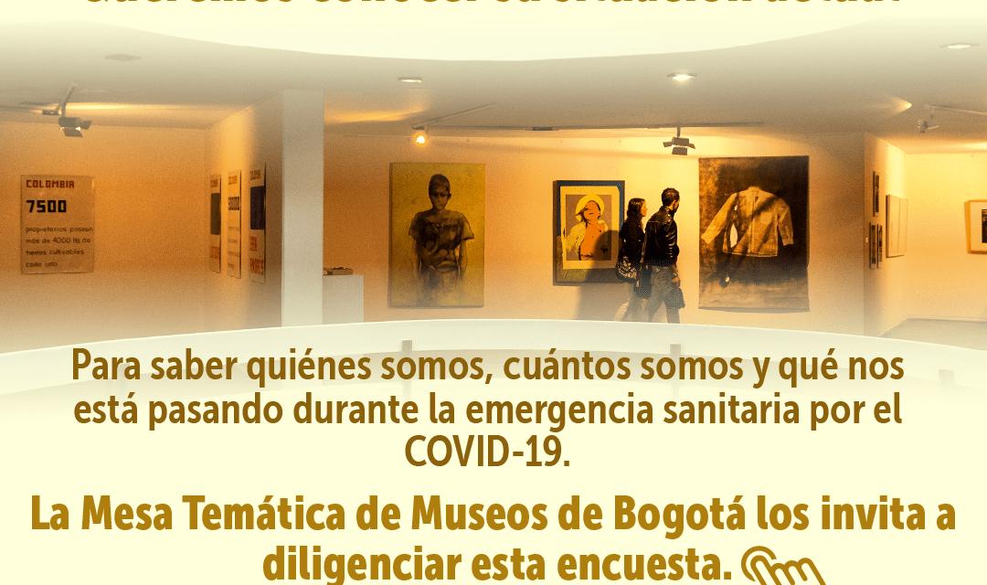 Un llamado a los museos de Bogotá para reconocernos y afrontar la pandemia juntos