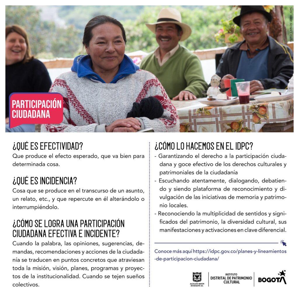 IDPC - Participación ciudadana