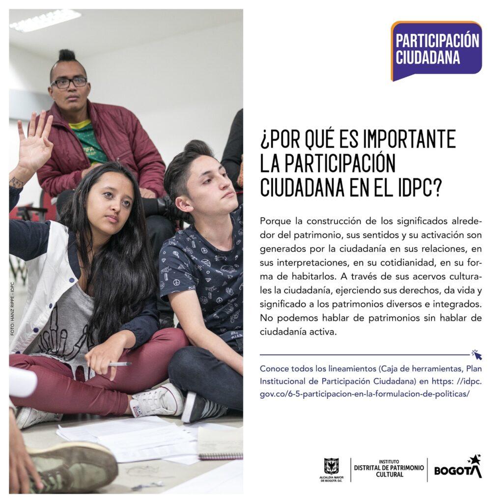 IDPC - Por qué es importante la participación ciudadana