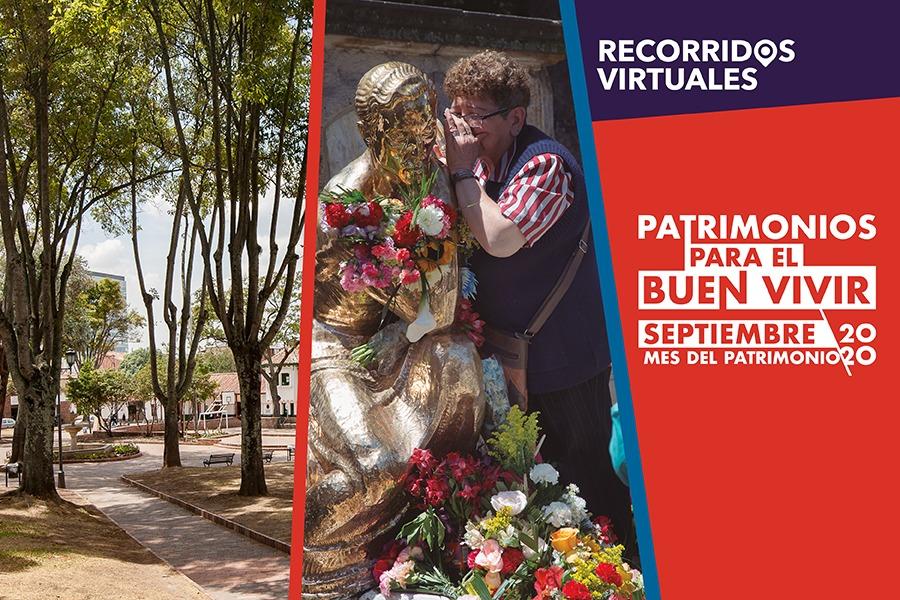 Caminar y llenar de nuevos sentidos las localidades de Bogotá es una de las grandes apuestas que tiene el IDPC en septiembre. En el Mes del Patrimonio 'Patrimonios para el buen vivir' acompáñanos en esta programación que trae nuevos recorridos virtuales por distintos lugares de la ciudad. 