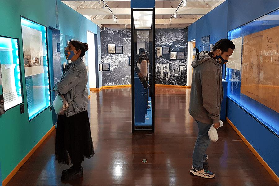 Compartimos las experiencias de las personas que asistieron a la apertura del Museo de Bogotá al inicio de la 'nueva realidad' en Bogotá, el sábado 5 de septiembre de 2020.