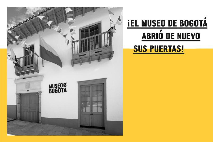 El 5 de septiembre reabrimos el Museo de Bogotá en clave de 're': reconocer, rehabitar y reencuentro.
