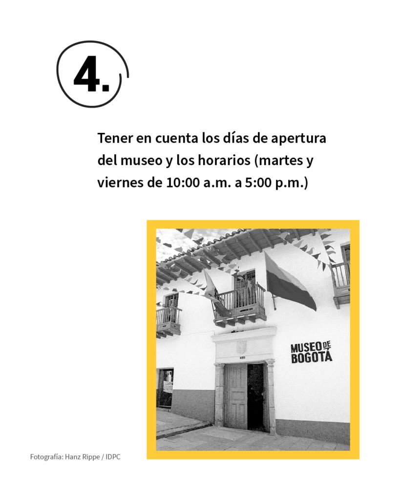 El Museo de Bogotá abre sus puertas a la 'nueva realidad' el 5 de septiembre, y lo hará en clave de 're': rehabitar, reconocer y reencuentro. Estas son las recomendaciones para que esos propósitos los vivamos entre todos con disfrute, cuidado personal y respeto por la salud de los demás. 