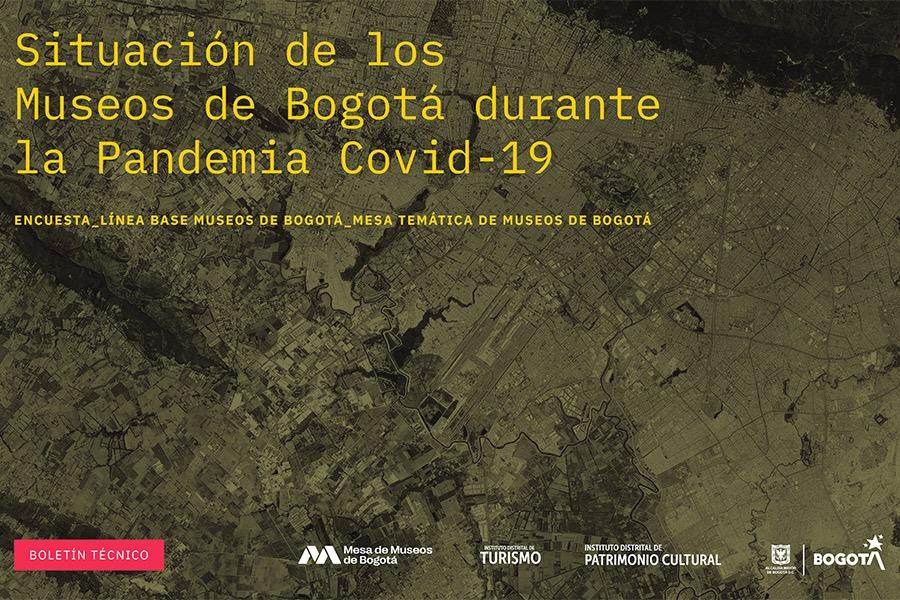 La Mesa de Museos de Bogotá presenta los resultados de la encuesta realizada a 62 museos de la capital del país para determinar su situación actual tras meses de pandemia por la Covid-19. (Consúltala al final de esta nota). 