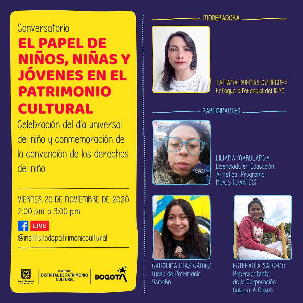 IDPC - Conversatorio el papel de niños y jovenes en el patrimonio cultural 2