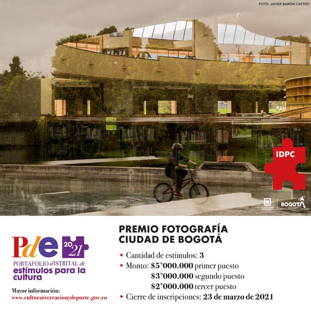 Premio 2021 fotografía Ciudad de Bogotá