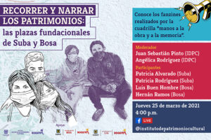 En estas dos publicaciones, ilustraciones, relatos y testimonios celebran la vida y reivindican los patrimonios locales de estas dos localidades de Bogotá. Fueron creadas en conjunto con Participación Ciudadana del IDPC.