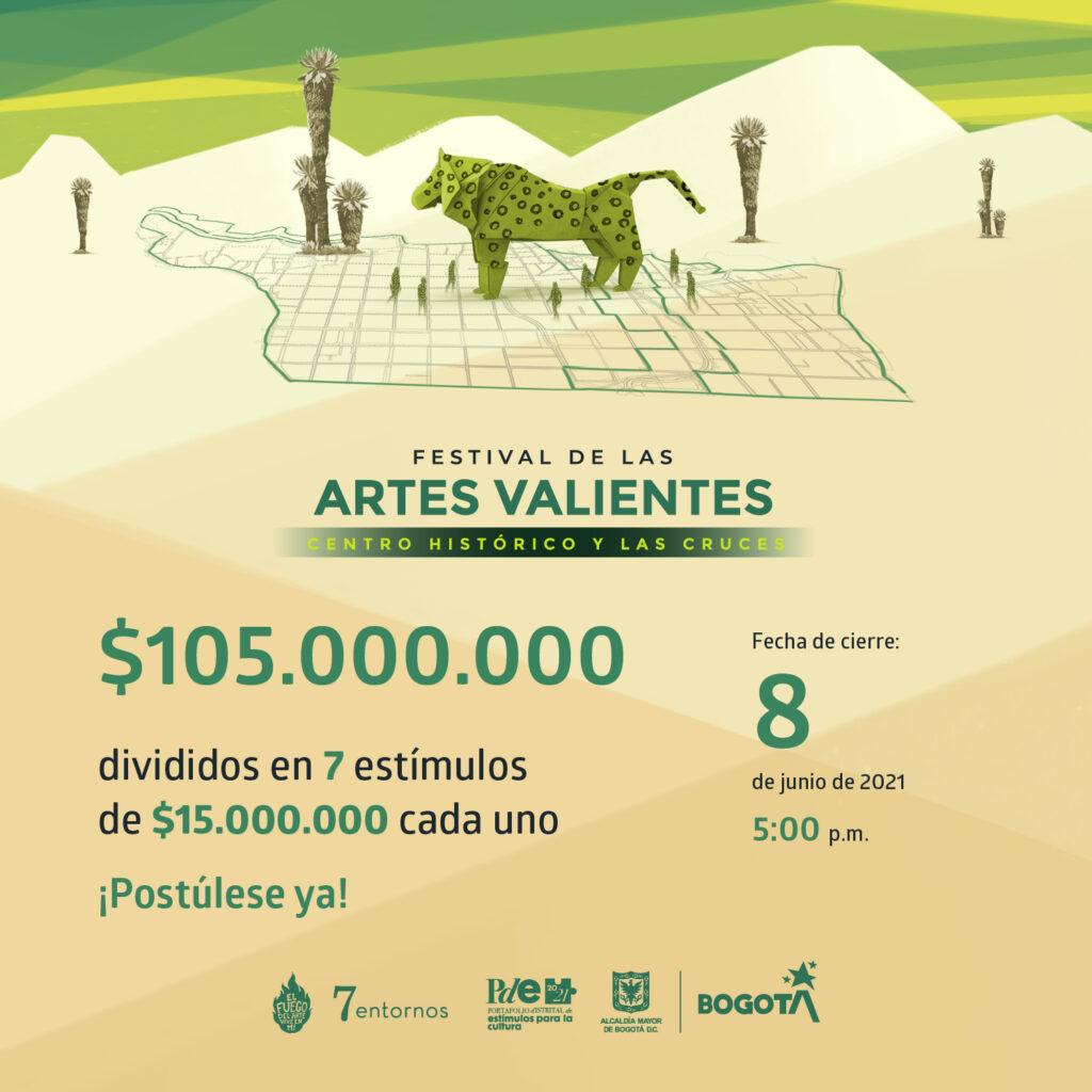 IDPC - Ampliación postulaciones festival de artes valientes_