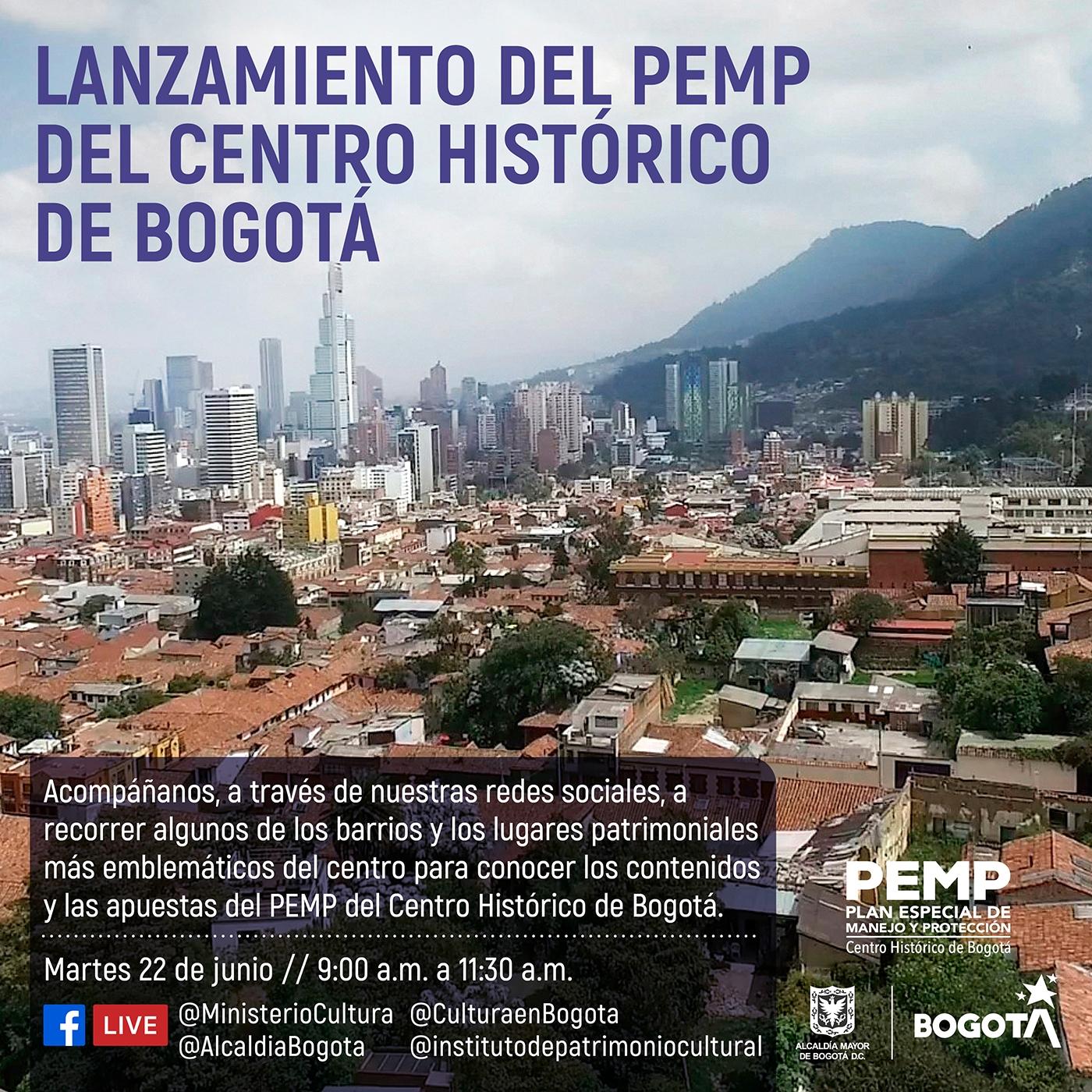 IDPC - Lanzamiento PEMP centro jueves 22 de 2021 en Belén