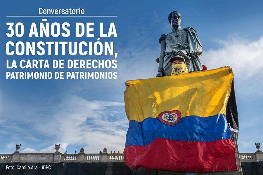 Imagen Conversatorio 30 años de la Constitución