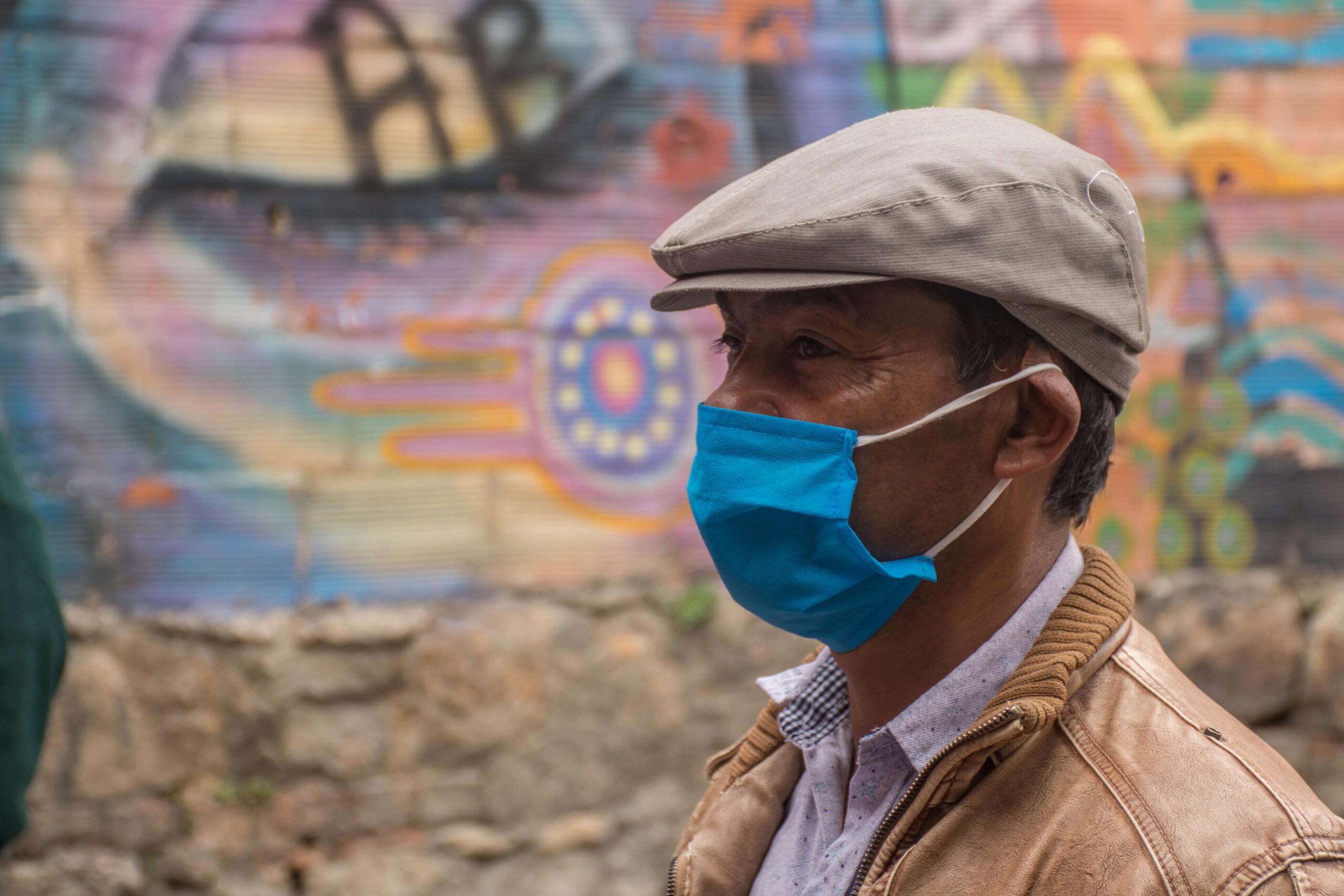 Imagen personas en el Barrio Belén en Bogotá