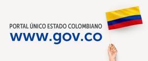 Botón Portal único del Gobierno