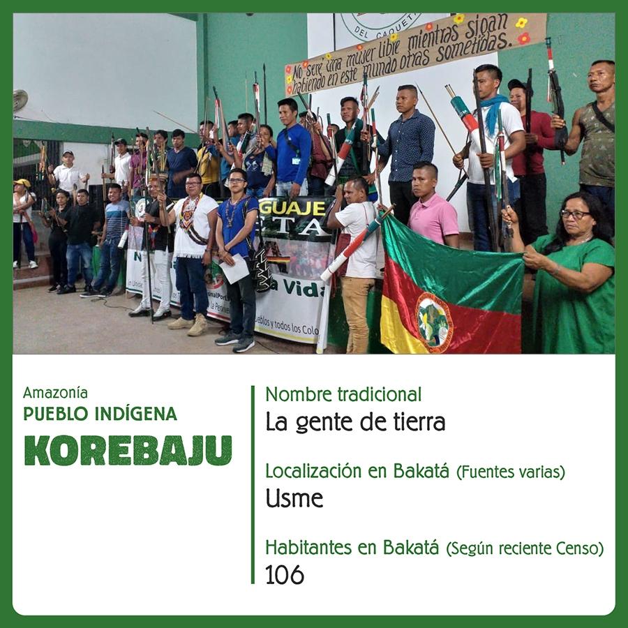 Pueblo Indígena Korebaju