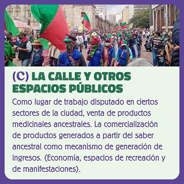 La Calle y otros espacios públicos