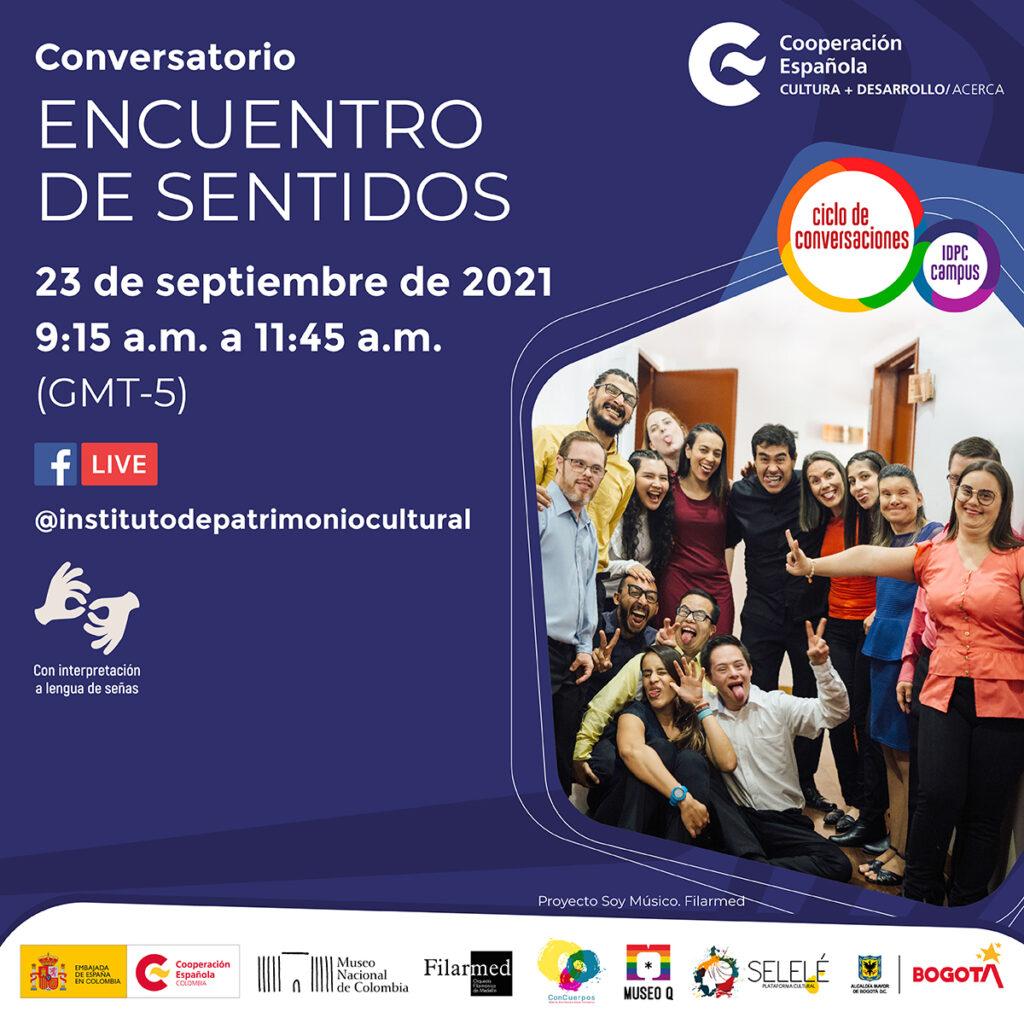 Imagen Conversatorio Encuentro de Sentidos