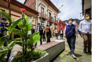 Visita Centro Histórico Alcaldesa Mayor