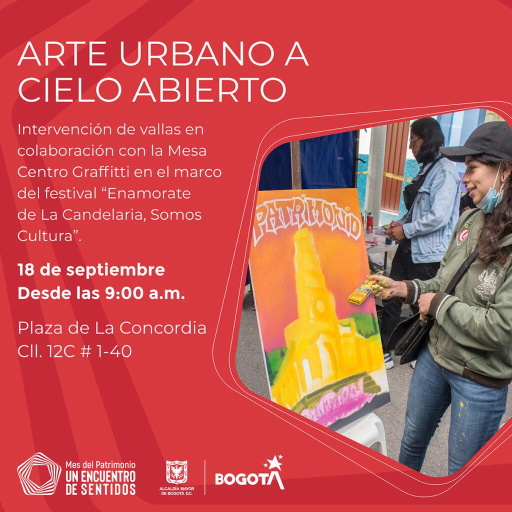 Imagen evento Arte Urbano a Cielo Abierto