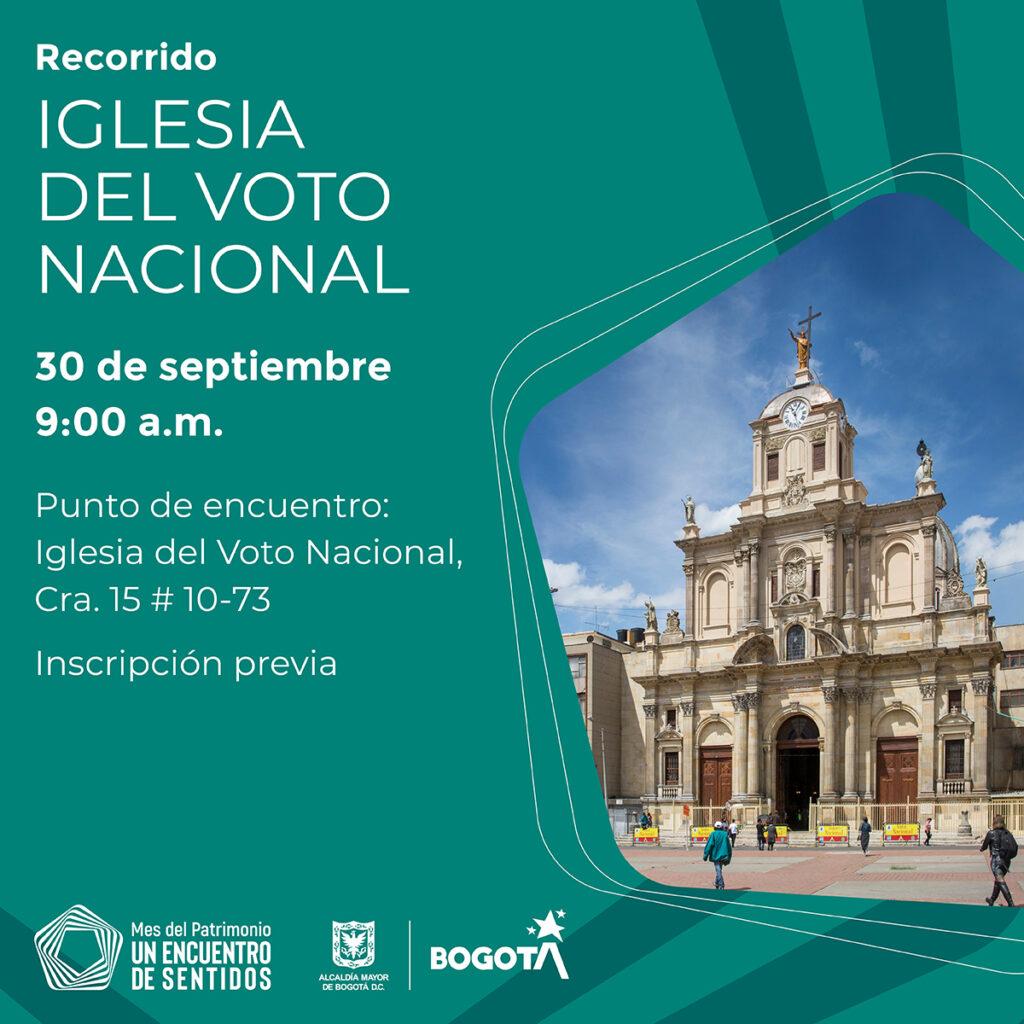 Recorrido Iglesia del Voto Nacional