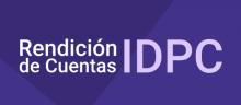 Logo Rendición de Cuentas IDPC