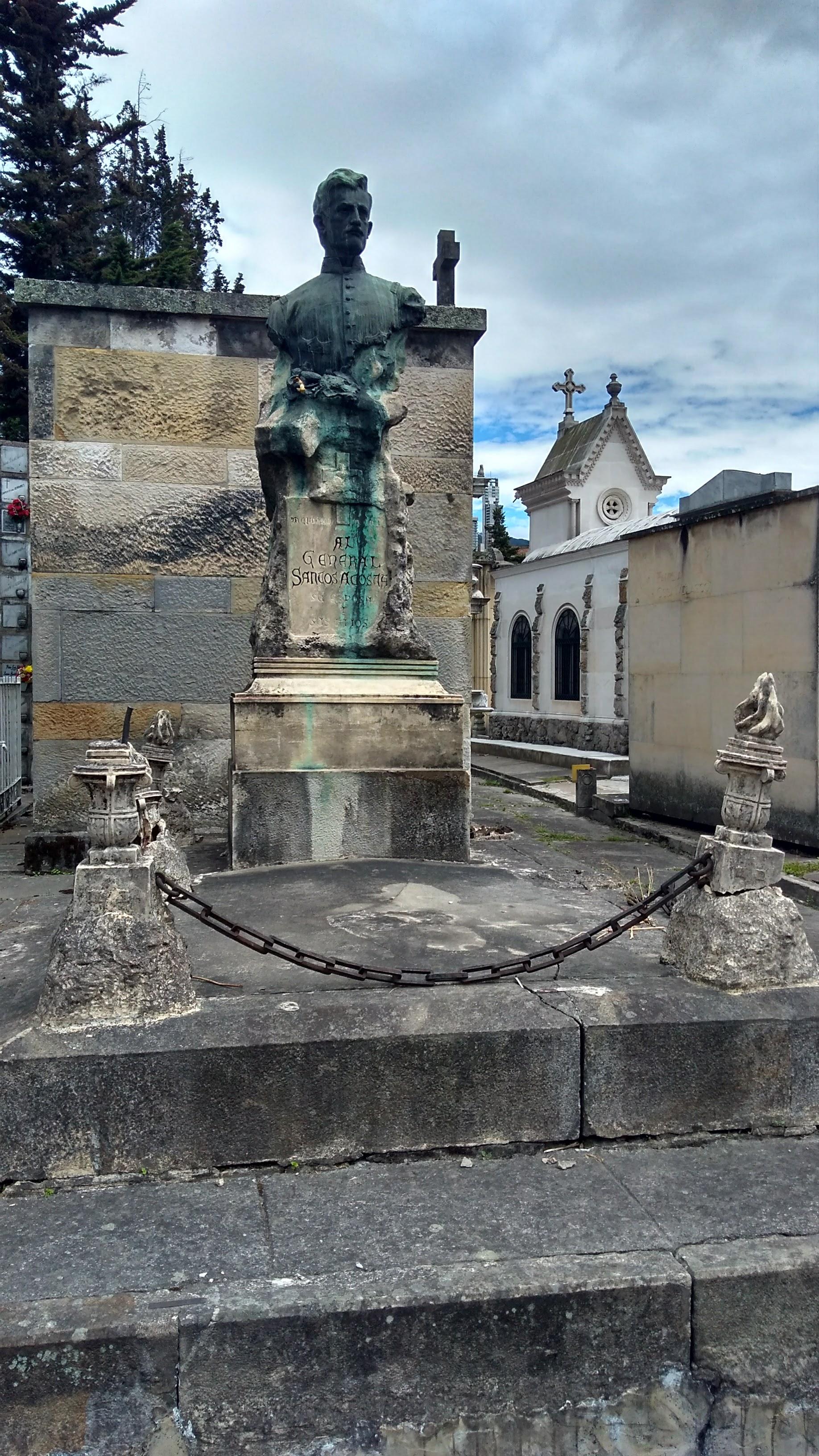 Tumba de Santos Acosta